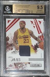 2009-10 LeBron James PANINI ROOKIES & STARS RUBY #14 /250 BGS 9.5 💎PSA gold