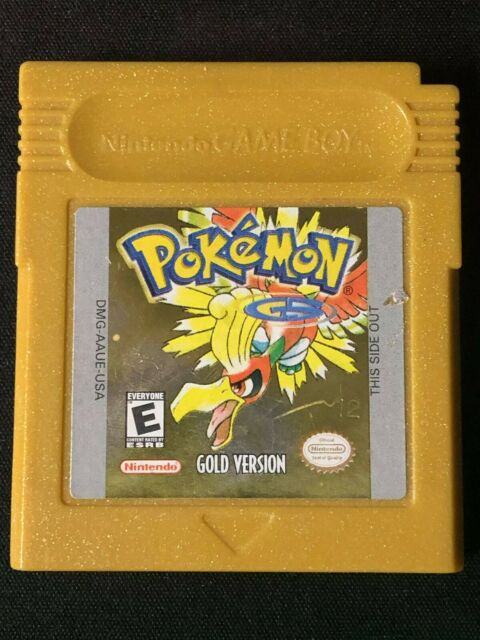 Pokemon: Gold Version (Game Boy Color, 2000) Cart Only *DEAD BATTERY!*