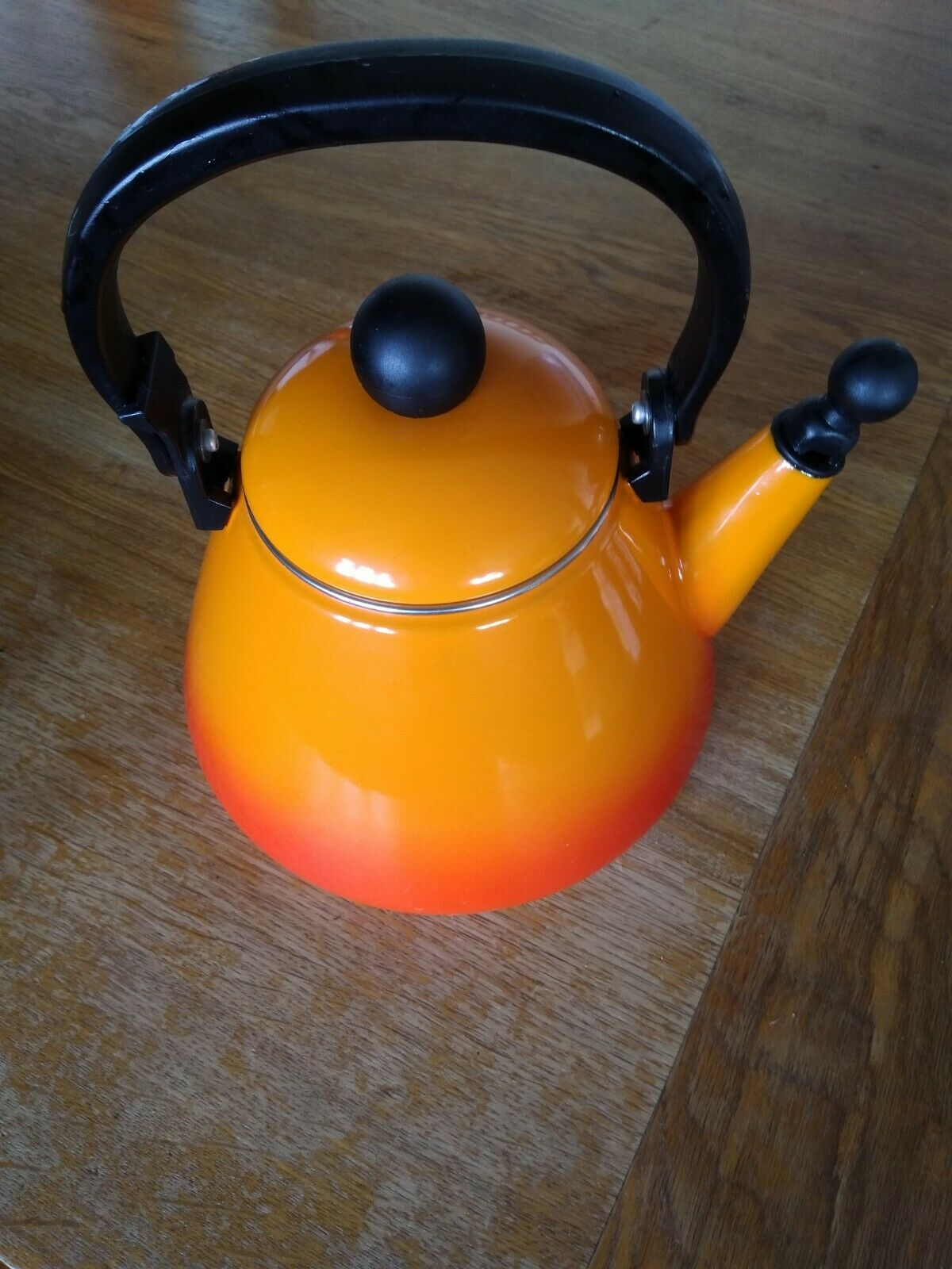 ⭐️LE CREUSET Kone Stove Top Kettle With Whistle 1.6L, Volcanic, NEARLY NEW⭐️
