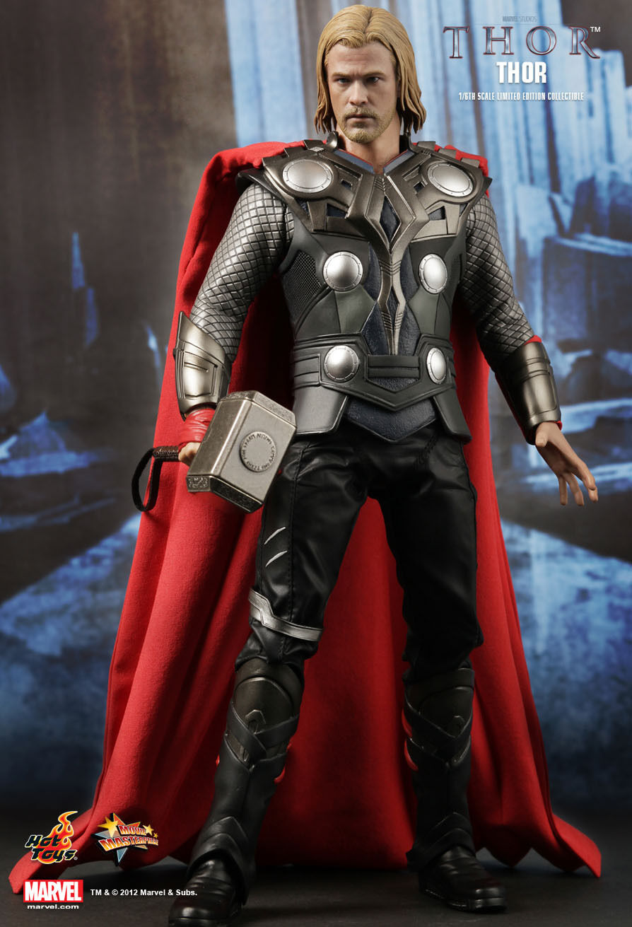 HOT TOYS 1/6 MARVEL THOR MMS146 THOR CHRIS HEMSWORTH MOVIE MASTERPIECE FIGURE
