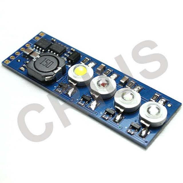 3W 4LEDs LED Indicator Module V1.0 for APM ArduPilot Mega MegaPirate Flight