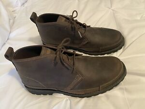 Timberland-Earthkeepers-Chukka-Ankle-Boots-Brown-Leather-84587-Mens-Sz-9-5
