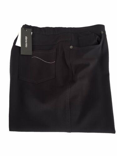 les et femme poches 'avec bleues élastique Miro Pantalon Elena application sur ceinture gzCq6Yw