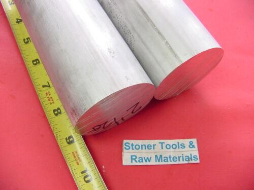 "2 Pieces 2-1//2/"" ALUMINUM ROUND ROD 9/"" long 6061 T6 Solid 2.50 Diameter Bar Stock"