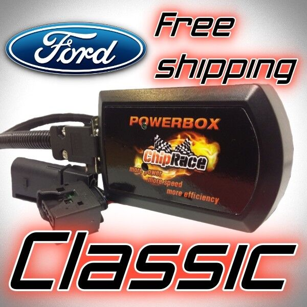 Chip Tuning Box FORD FOCUS MK1 1.8 TDCI 101 115 HP B-MAX 1.6 TDCI 95 HP CR