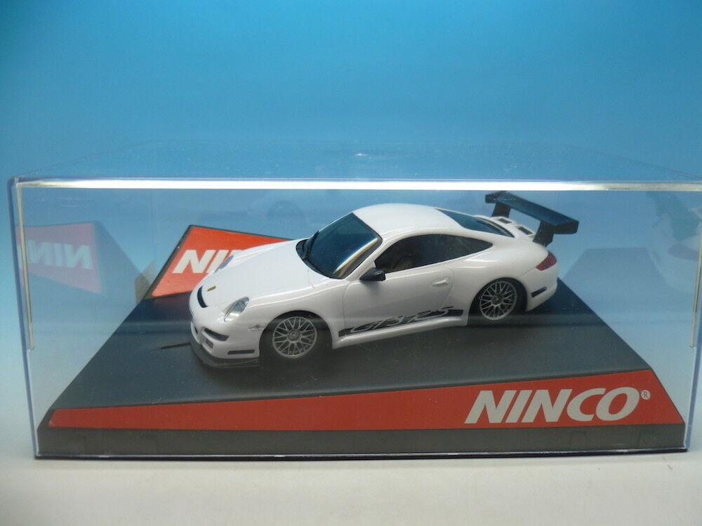 Ninco 50446 Porsche 997 Roadcar White, mint unused
