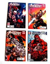 Marvel Comics AVENGERS SANCTION 1-4  , vs X Men stars Red hulk, Black Spiderman