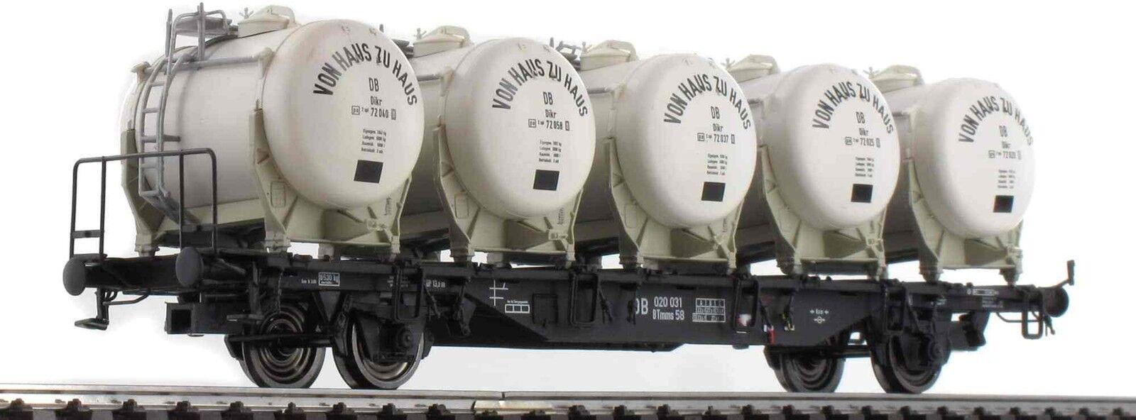 Brawa ho 49123 recipientes carro estructural btmms 58  de casa en casa de  DB EP. III nuevo ov