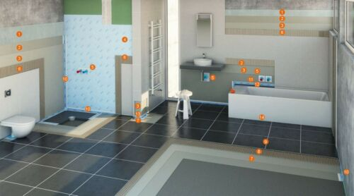 PCI Pecitape 90° Innenecke Abdichtung Lastogum Dusche Bad Balkon Sauna Küche