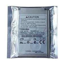 "1.8"" 20gb TOSHIBA CF MK2004GAL Hard Drive For Apple iPod 3rd 4th GEN Photo / U2"