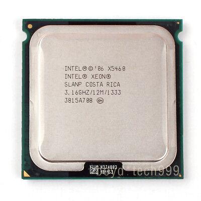 Intel Xeon X5460 Quad-Core CPU Processor 3.16 GHz 1333 MHz LGA 771//Socket J