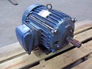 TECO-WESTINGHOUSE-10-HP-MOTOR-FR-215T-RPM-3510-119711J-USED