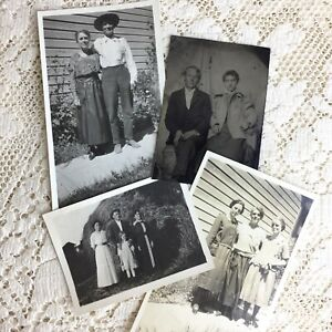 Antique Photos Tintype Family Husband Wife Children Little Girls ID Franklin LOT