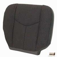 2007 Chevy Silverado 1500 2500 3500 Passenger Bottom Cloth Seat Cover Dark Gray