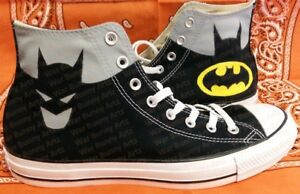 8382a91ddc2e Image is loading Batman-Custom-Hand-Painted-Converse-All-Stars-High-
