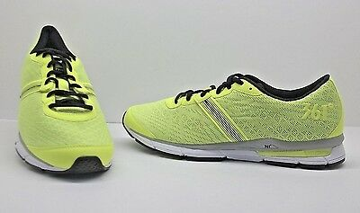 361 Degrees Spire 101610111-5025 Mens Green Mesh Lace Up Athletic Running Shoes