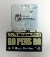 Pittsburgh Penguins go Pens Go License Plate Ornament on Sale