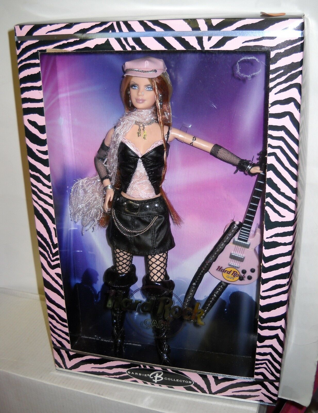 4510 NRFB Mattel Pop Culture Hard Rock Cafe Barbie 2nd in Series