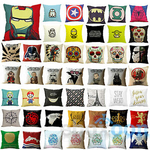 18-034-Cartoon-Cushion-Cover-Cotton-Linen-Sofa-Throw-Pillow-Case-Square-Home-Decor