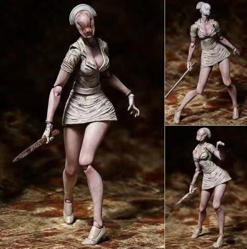 Figma SP-061 Silent Hill 2 Bubble Head Nurse PVC Action Figure Toy Gift No box