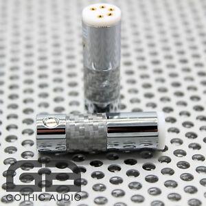 NEW-Tonearm-Plug-Connector-Straight-S-DIN-For-Roksan-Linn-Jelco-SME-etc