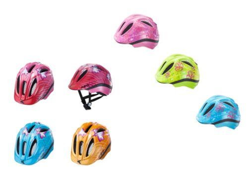 KED Kinder Fahrradhelm Green, Violet, Lightblue, Pink, Orange Flower