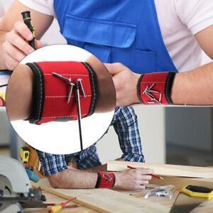 Multi-Use-Magnet-Armband-Tasche-Schrauben-Naegel-Bohreinsaetze-Halter-Reparatur-Werkzeug