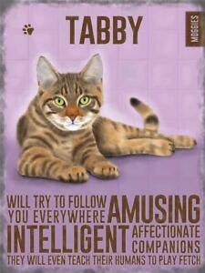 Vintage-Style-Chic-Metal-Wall-Sign-Plaque-Tabby-Cat-Pet-Christmas-Gift-Kitchen