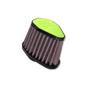 DNA-Green-Leather-Top-Hexagonal-Air-Filter-Inl-51mm-Len-86mm-PN-V-5100-L-GR