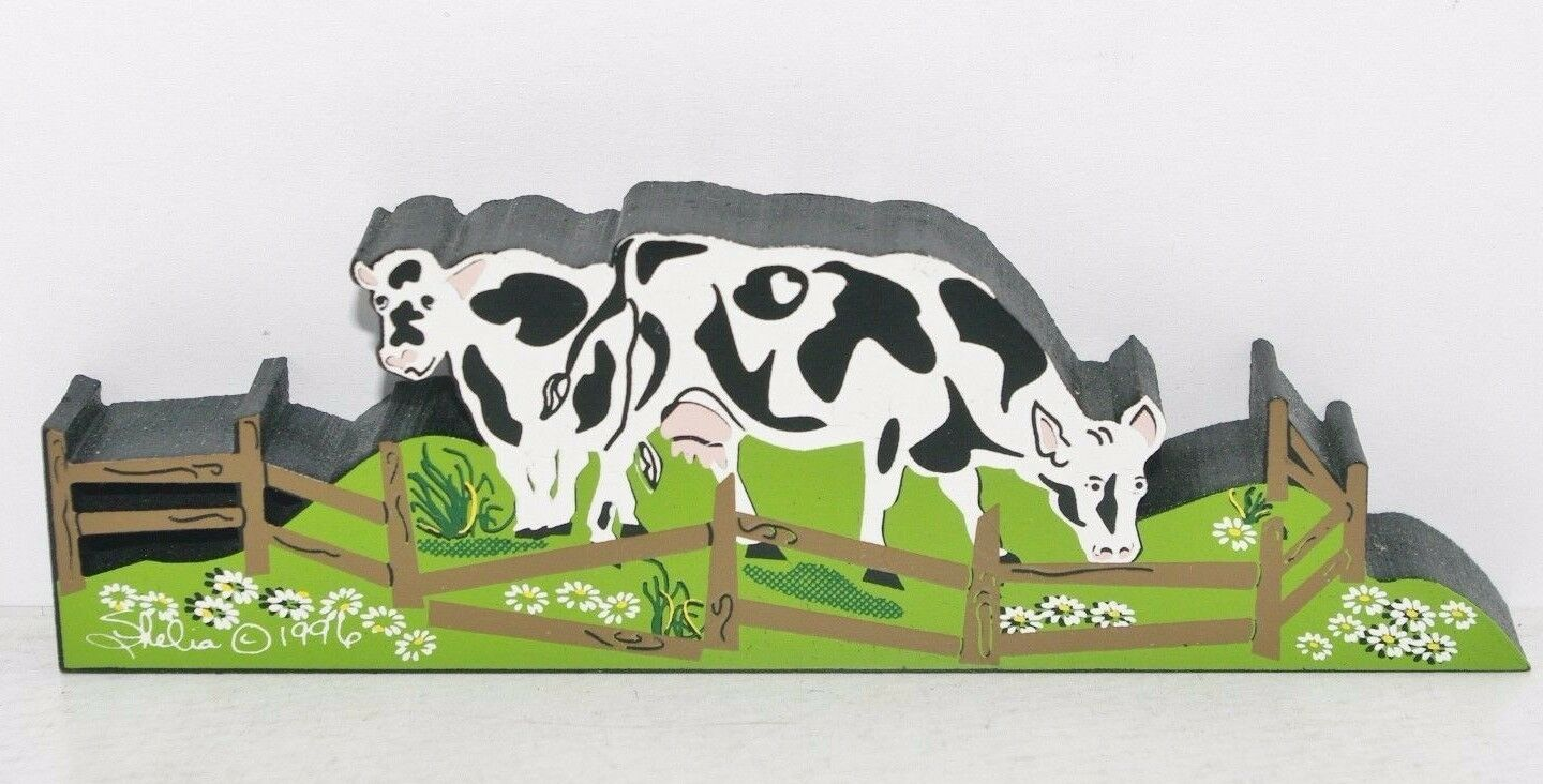 Image 1 - GRAZING COWS ACC04 RETIRED ACCESSORIES BY SHELIA'S MADE IN CHARLESTON SC