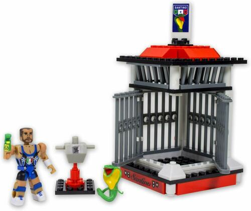 WWE Stack Down univers Santino Marella/'s Cobra Cage 70 pcs 21003 Construction W