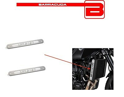 100% Waar 2 Cover Laterali Personalizzate Alluminio Radiatore Acqua Benelli Leoncino 500 En Digestion Helping