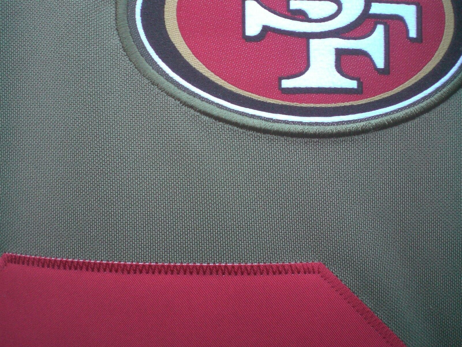 Carlos Hyde San Francisco 49ers Salute To Service Limited Jersey - Olive