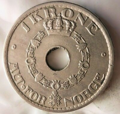 High Quality Coin Norway Bin #1 1949 NORWAY KRONE FREE SHIPPING