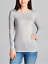 Basic-Long-Sleeve-Solid-Top-Womens-Plain-Cotton-T-Shirt-Stretch-Tight-Crew-Neck thumbnail 8