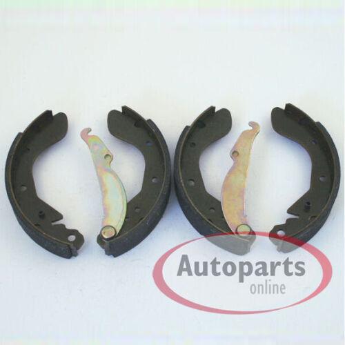 Bremsen vorne Bremstrommel Backen Radzylinder Set hinten Opel Corsa B mit Abs