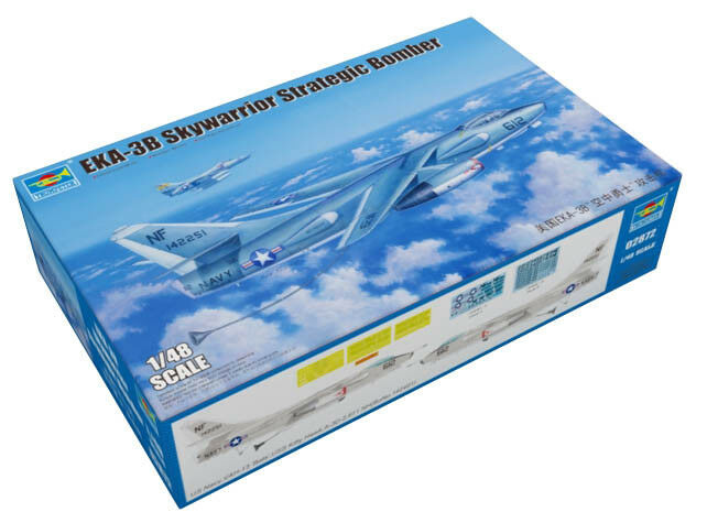 Trumpeter 9362872 Douglas EKA-3B Skywarrior 1 48 Bomber Flugzeug Modellbausatz  | Hat einen langen Ruf