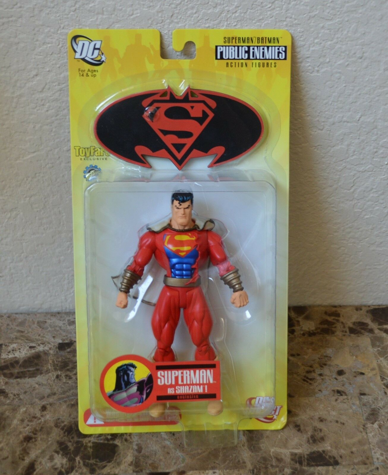 Dc Direct Public Enemies Superman für Shazam Toyfare Exclusiv Neu Actionfigur  | Angemessener Preis