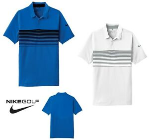 877fae4d MEN'S NIKE DRI-FIT, SHORT SLEEVE, CHEST STRIPE, LIGHTWEIGHT, POLO ...
