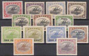D3008-AUSTRALIA-PAPUA-1907-1931-MINT-MH-SEMI-MODERN-LOT-CV-200