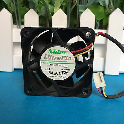 1PC For Nidec fan  6025 12V 0.22A 6CM B35200-35