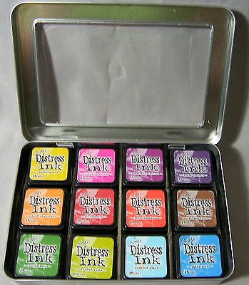 Ranger TDA42013 Mini Distress Ink Storage Tin 1 Pack