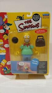 THE-SIMPSONS-WORLD-OF-SPRINGFIELD-PIN-PAL-HOMER-INTERACTIVE-FIGURE-IN-PACKAGE