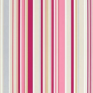 Image Is Loading Harlequin Candy Stripe Pink Striped Wallpaper Wall Covering