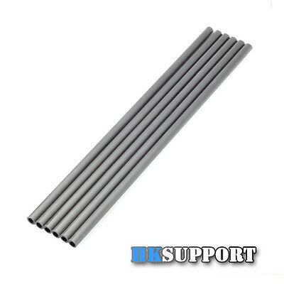 6 Pcs ∅6x4mm L200mm Carbon Fiber Tube Rod for Rostock Kossel Delta 3D Printer