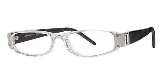 Fendi 645 Color 000 Black & Clear Eyeglasses Womens Designer Glasses Italy
