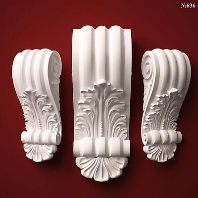 3D STL CNC Model Corbel #11 file for CNC Router Carving Machine Printer Relief Artcam Aspire Cut3d