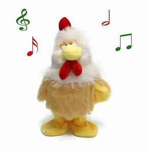 Chicken-Plush-toy-Electric-Hen-Musical-Dancing-Chicken-Baby-Kid-Gifts-battery