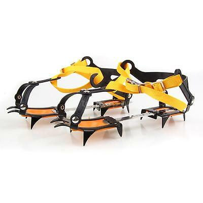 Strap Crampons Belt Slip-resistant Ice Snow Shoes Spike Grip Boots 10 Crampon