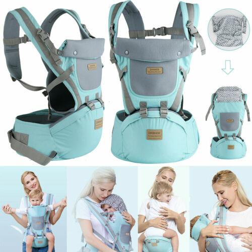 9 in1 Ergonomische Babytrage Kindertrage Bauchtrage Rückentrage Baby Carrier LD